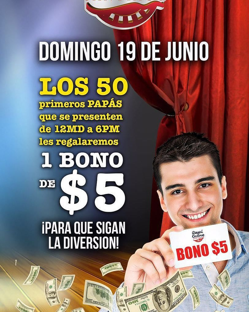 promo dia del padre en Casino Royal Santiago